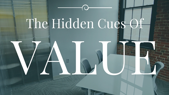 The Hidden Cues of Value