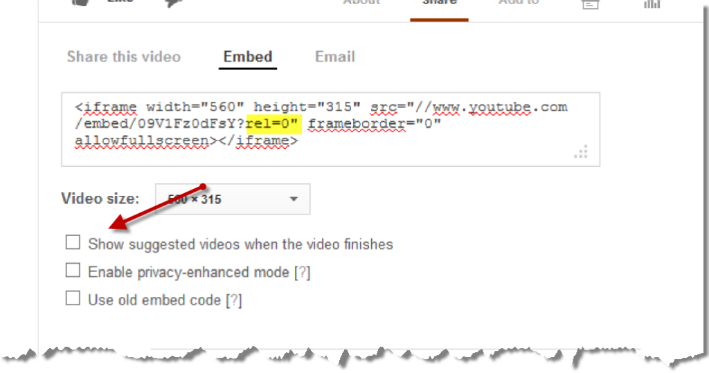 YouTube No Related Video Code2