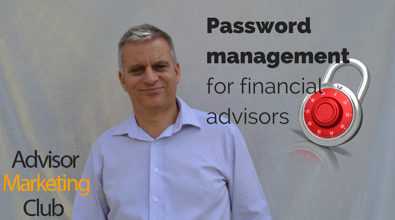 Password Management For Financial Advisors